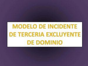 Modelo de Memorial de Tercería de Dominio Excluyente